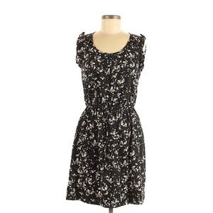 LC Lauren Conrad Bird Print Dress